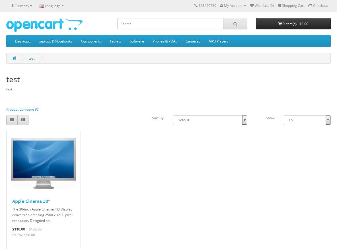 Seo Метки (теги) для OpenCart и ocStore изображение №2