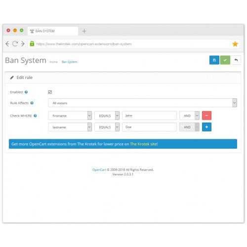Резервное копирование / восстановление (Backup - Restore Plus) для OpenCart и ocStore изображение №4