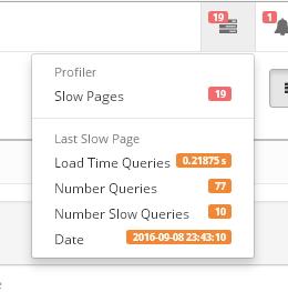 SQL Profiler с уведомлениями по электронной почте и информированием в админке для OpenCart и ocStore изображение №2
