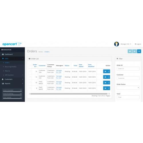 Менеджеры для клиентов для OpenCart и ocStore