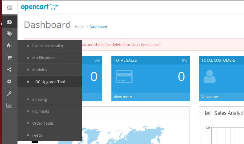 Миграции и удаленное обновление для OpenCart и ocStore изображение №2