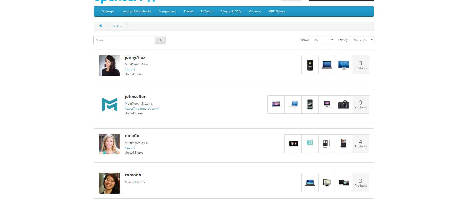 MultiMerch Marketplace Professional - мультивендорная платформа для продавцов v8.9 для OpenCart и ocStore изображение №15