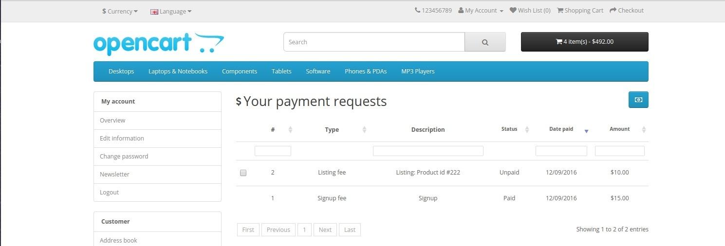MultiMerch Marketplace Professional - мультивендорная платформа для продавцов v8.9 для OpenCart и ocStore изображение №5