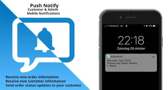 Мобильные push-уведомления для OpenCart и ocStore