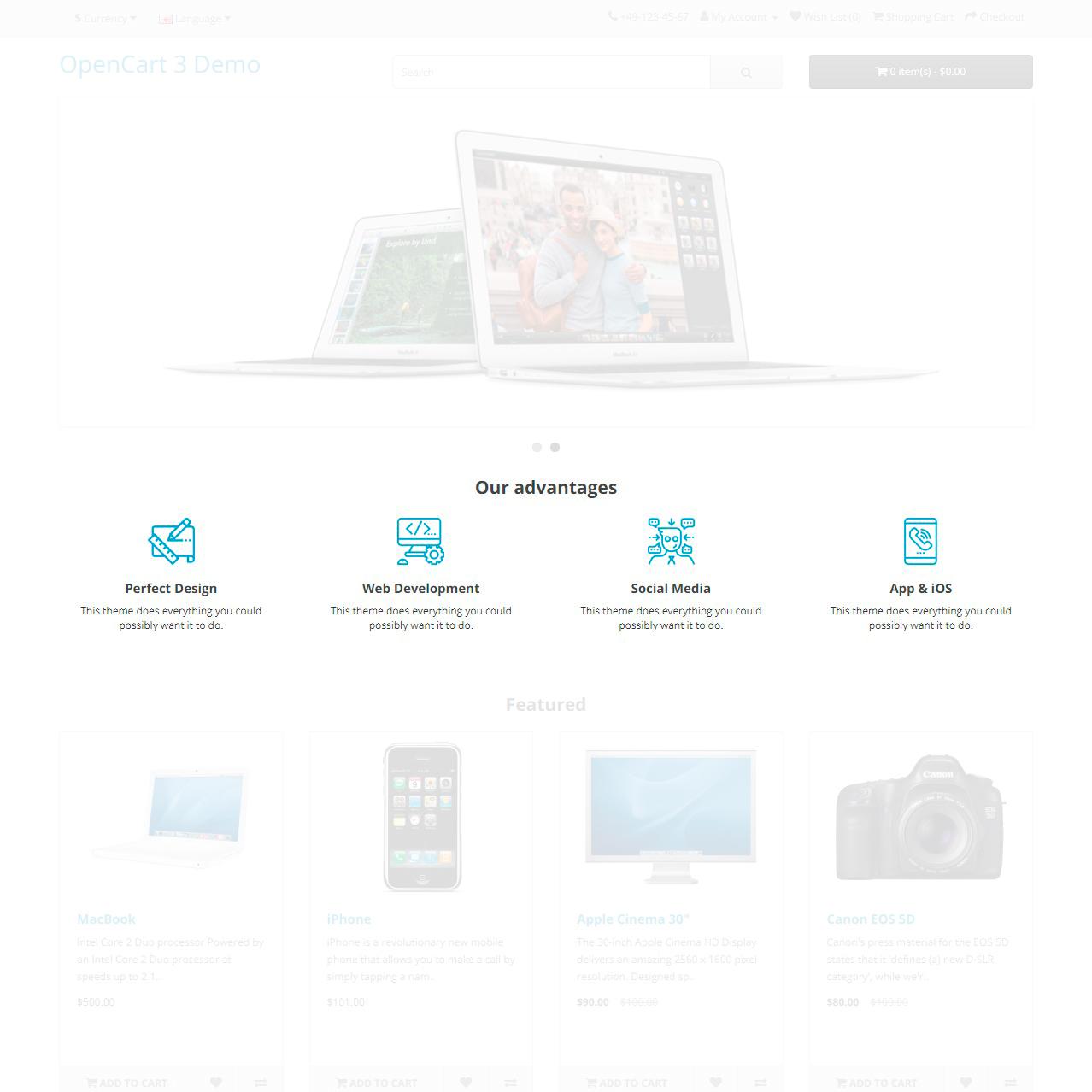 Список преимуществ (УТП) с пользовательским изображением для OpenCart и ocStore изображение №2