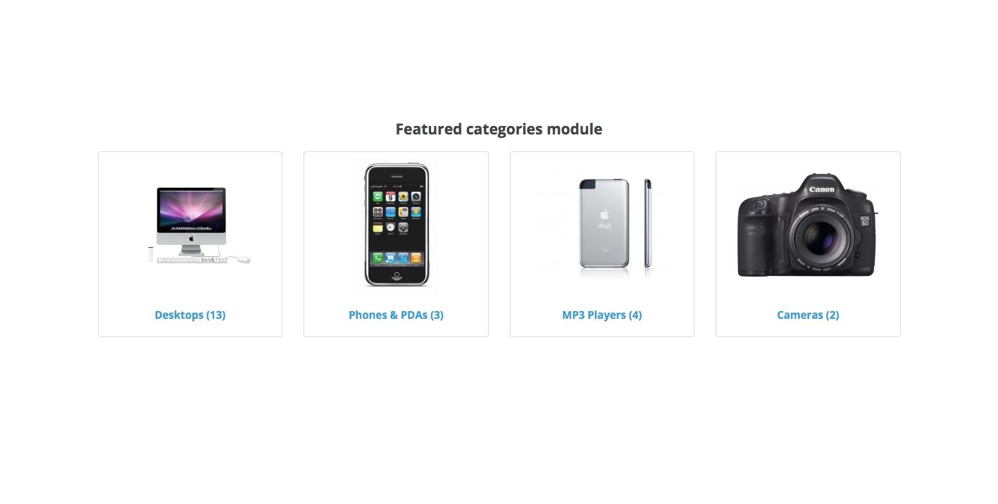 Избранные категории для OpenCart и ocStore изображение №3